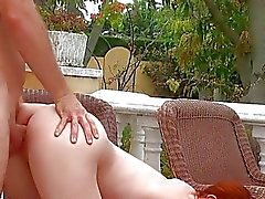 Teen slut sucks and swallows