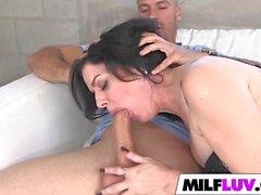 Sexy MILF Natalie Lovenz Got Filled