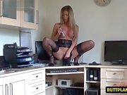 hot pornstar nylon with cumshot film video 1
