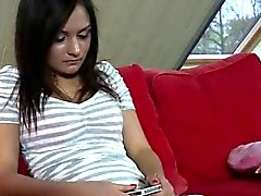 Ebony dyke blowjob and casting first time Young Anina has to
