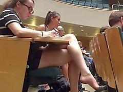 College Teen Shoeplay