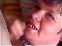SilverFox Granny Seduces Young Cock