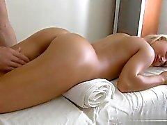 Busty amateur anal gape