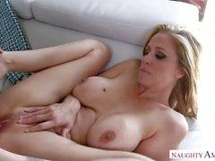 Mature MILF Julia Ann Amazing Step Mom loves hard dicks