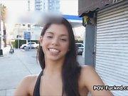 Brazilian teen Gina offers her tight vagina