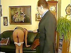 Young babe gets disciplined by her principal
