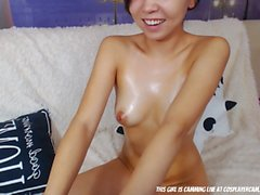 Asian Teen Slut Never Gets Enough...