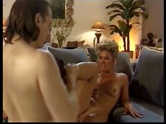 Beautiful blond whore gets her butt and cunt banged