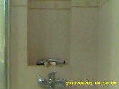 amazing body italian teen masturbating in shower