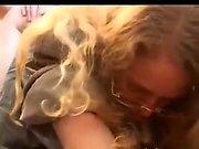 Amateur teen girlfriend full blowjob with facial shot