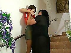 Granny Victoria - lezzy granny in action