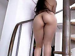 Sexy Latina Teen Girl Nikki Has A Nice Booty