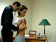 Busty Teen Getting Her Tits Rubbed Ass Spanked To Red By The Doctor