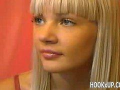 Young blonde fingers ass - hookXup_
