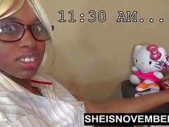 Msnovember Movie: My First Day At Work Ebony Amateur Fucking