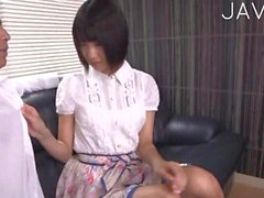 Jap teen stripping