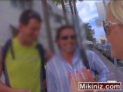 Bangin&#039_ Average Joe Mckenzie Miles, Blonde One Teen Facial Reality Based
