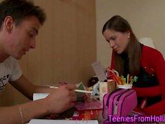 Dutch teenager face spunk