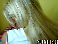 Library teen ass fucked for some money