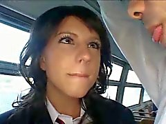 Groping - Handjob And Bj On Public Bus