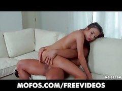 Italian brunette Anita Berlusconi rides cock in her ass