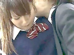 Innocent Teen groped in the school library