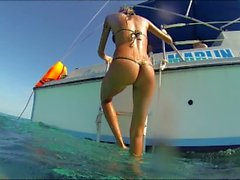 Katya Clover - Cuba Iguana Island Trip