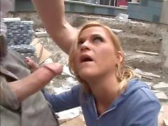 Mckenzie Miles Fucks Construction Worker