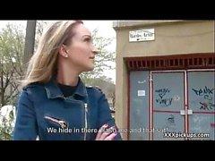 Public Sex For Money In Open Street With Teen Czech Amateur Girl 21