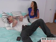Brunette Latina Stepmom Ariella Ferrera Is Very Hot Girl