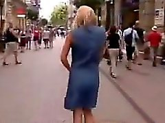 Beautiful Exhibitionist Naked In Public