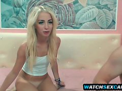 Super Hot Amateur Blonde Teen Slut Rimming Boyfriend Webcam