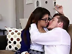 High school uniform spex teen sucking