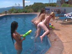 Games babes - Caprice, Kala & Melisa