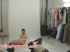 Erotic photoshoot with czech amateur