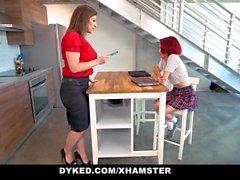 Dyked - Milf Tutor Sara Jay Fucks Tiny Teen