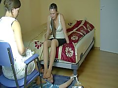 Foot Worship 2 Nylon Clad Girls