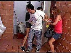 Czech teens Kiki and Sandra piss and then punish
