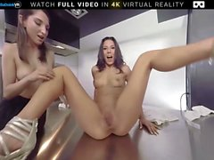 BaDoink VR Threesome Sex With Alexa Tomas And Jimena Lago VR Porn