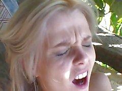 Very Cute Brazillian Blond Teen Anal Fucked