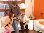 Old swallow first time Unexpected experience with an