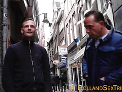 Dutch whore rides n tugs