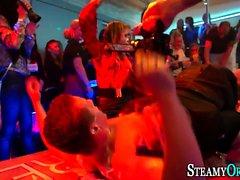 Teens get wam at orgy