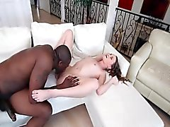 Kacy Lane VS biggest black cock