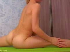 hairy teen naked stretching