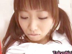 An Nanairo Asian model is lovely and big part5