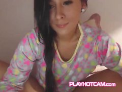 Pretty PLAYHOTCAM Teen Must Be Getting Really Wet Under