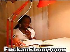 African Teen Ass Fucked Interracial
