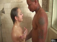 HowToFuckTeens - Interracial Shower Sex at it's Best