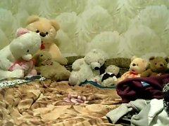 Sexy Russian Teen Masturbate a Cam Porn